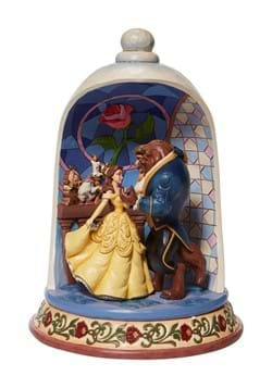 Jim Shore Beauty and the Beast Rose Dome