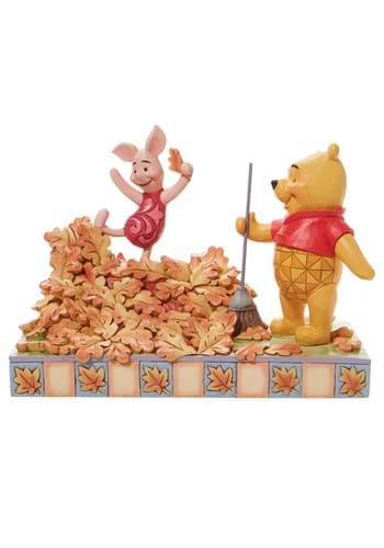 Jim Shore Pooh and Piglet Fall Statue