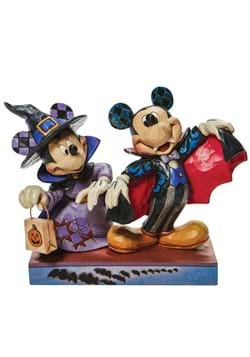 Jim Shore Minnie Witch Vampire Mickey Statue