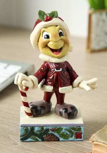 Jim Shore Jiminy Crickett Santa Statue