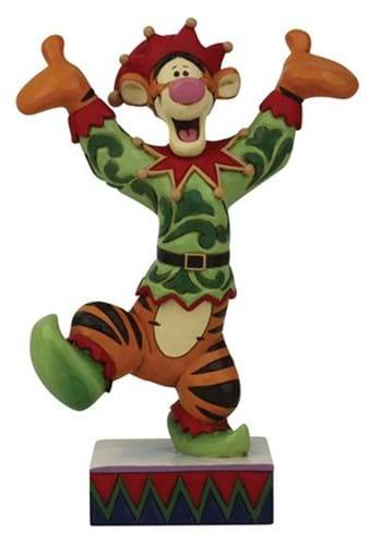 Disney Jim Shore Tigger Elf Statue