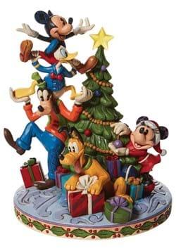 Disney Jim Shore Fab 5 Decorating Tree Statue