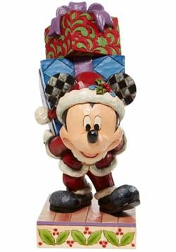 Jim Shore Mickey with Presents Statue