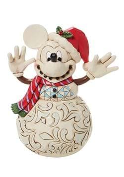Jim Shore Mickey Mouse Snowman Statue