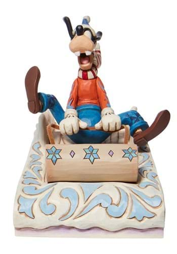 Jim Shore Goofy Sledding Statue