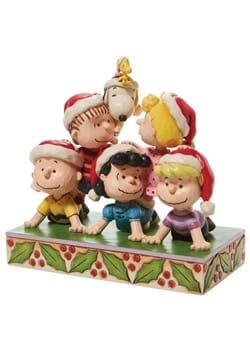 Jim Shore Peanuts Holiday Pyramid Statue
