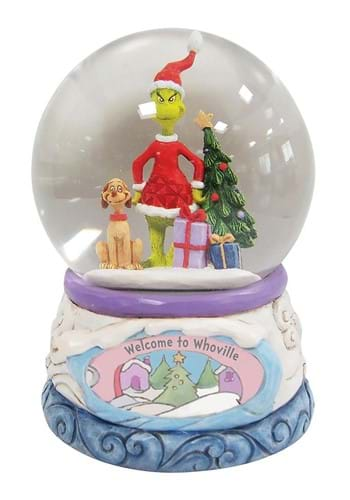 Jim Shore Grinch and Max in Waterball