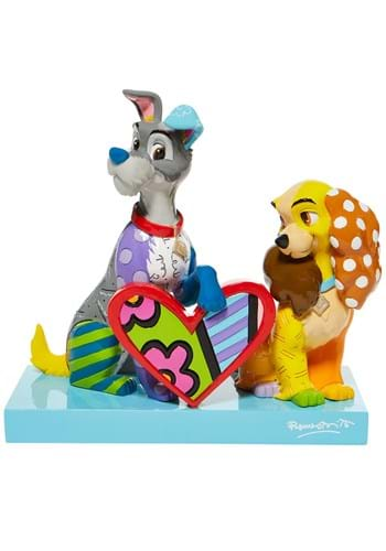 Disney Britto Lady and the Tramp Statue UPD