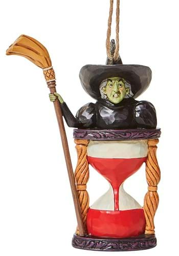 Wizard of Oz Wicked Witch Hourglass Ornament