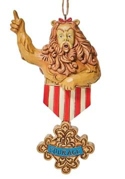 Wizard of Oz Cowardly Lion Courage Ornament