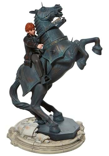 Harry Potter Ron on Chess Horse Statue