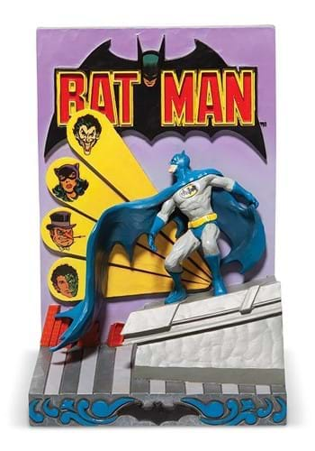 Jim Shore Batman 3D Comic Book Cover Diorama