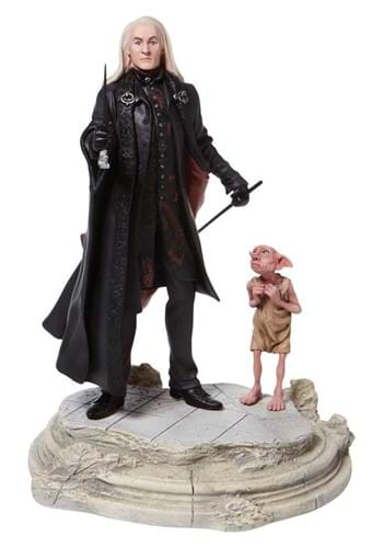 Harry Potter Lucious Malfoy w Dobby Statue