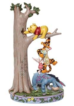 Jim Shore Tree with Pooh and Friends Statue