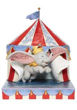 Jim Shore Dumbo Flying out of Tent Scene Diorama