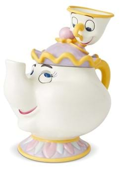 Beauty & the Beast Mrs Potts and Chip Cookie Jar