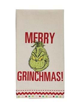 Merry Grinchmas Tea Towel