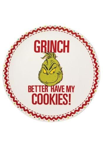 Grinch Cookie Platter