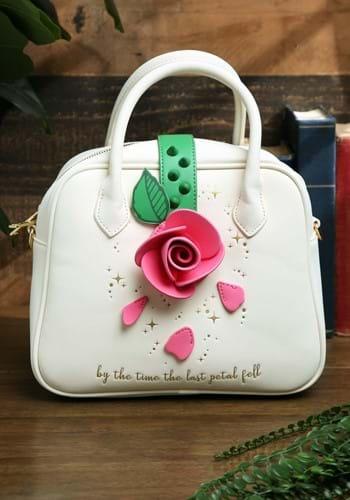 Loungefly Disney Beauty and the Beast Rose Crossbody Bag-1