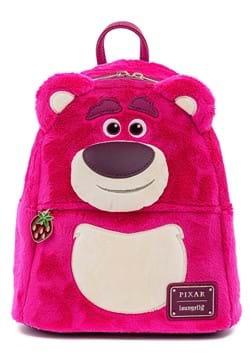 Loungefly Disney Pixar Lotso Cosplay Sherpa Mini Backpack