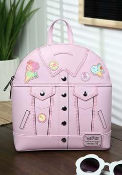 Loungefly Pokemon Ice Cream Denim Jacket Mini Backpack-1