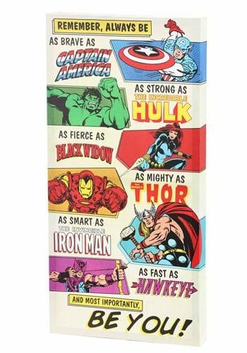 Avengers Be You Inspiriational 12 24 Canvas Wall update