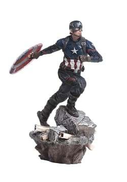 Captain America Deluxe BDS 1/10 Scale Statue