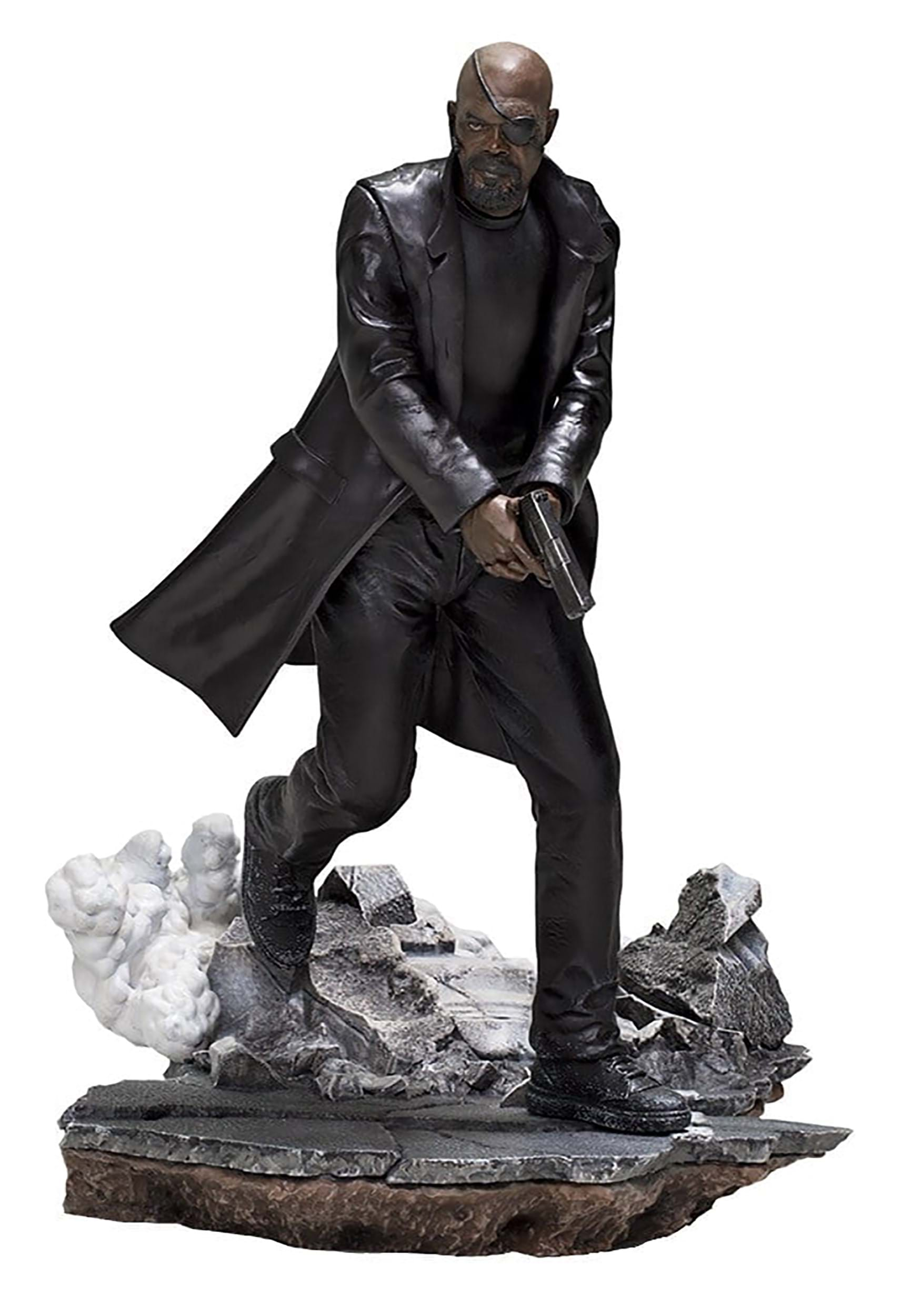 1/10 Scale Statue of Spider-Man: Far From Home Nick Fury
