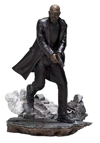 Spider-Man: Far From Home Nick Fury 1/10 Scale Sta