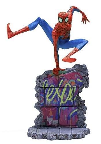 Spider Man Into the Spider Verse Peter Parker Statue