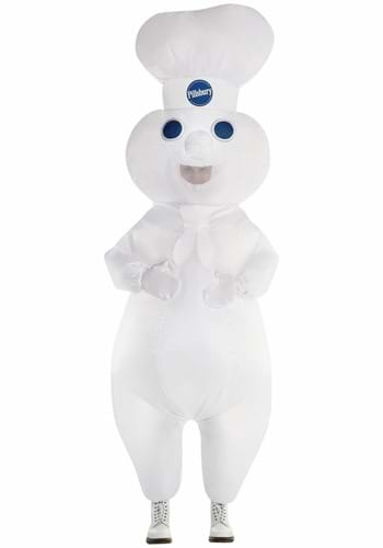 Inflatable Adult Pillsbury Doughboy Costume