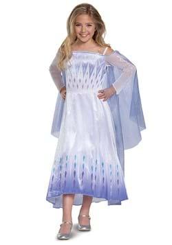Frozen Snow Queen Elsa Deluxe Girls Costume