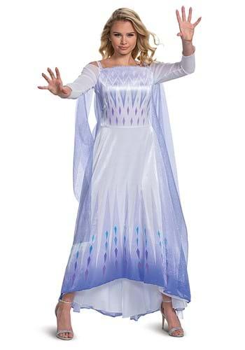 Frozen Snow Queen Elsa Deluxe Womens Costume