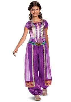 Aladdin Live Action Girls Jasmine Purple Classic Costume