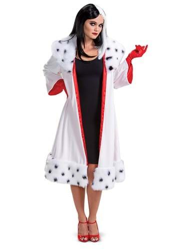 101 Dalmatians (Animated) Womens Cruella Jacket Costume