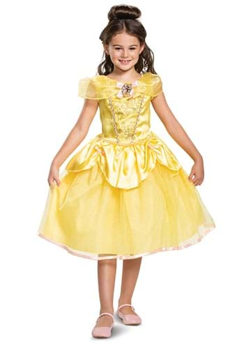 Beauty and the Beast Belle Girls Classic Costume