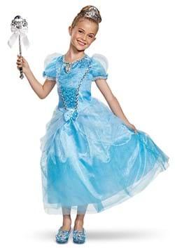 Cinderella Kid's Deluxe Costume