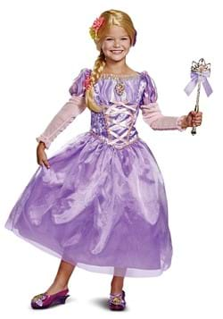 Girls Tangled Rapunzel Deluxe Costume