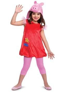 Kid's Deluxe Peppa Pig Costume