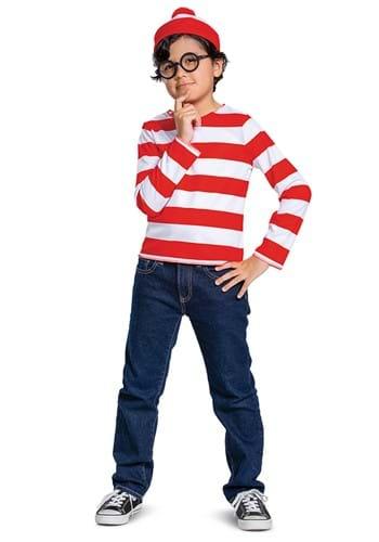 Child Classic Where's Waldo Costume
