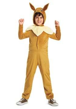 Pokemon Eevee Hooded Jumpsuit Classic Kids Costume