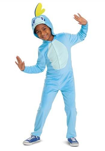 Kids Pokemon Sobble Hooded Jumpsuit Classic Costume