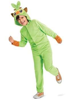 Pokemon Grookey Hooded Jumpsuit Kids Classic Costume