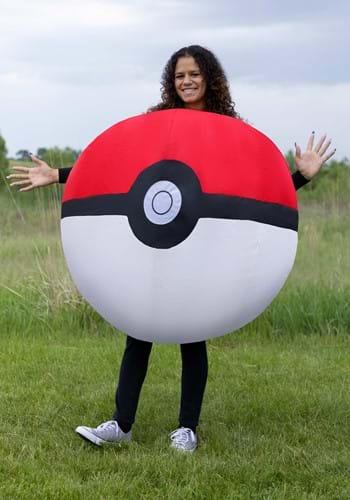 Inflatable Poke Ball Adult Costume