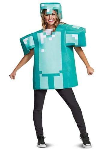 Classic Adult Minecraft Armor Costume