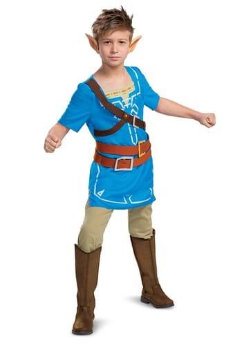 Link Breath of the Wild Classic Costume upd