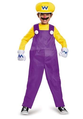 Kids Wario Deluxe Costume