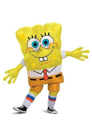 Kid's Inflatable Spongebob Squarepants Costume