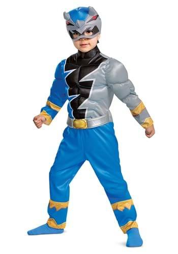 Toddler Power Rangers Dino Fury Blue Ranger Costume
