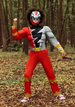 Kid's Power Rangers Dino Fury Red Ranger Costume